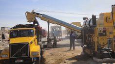 Asphalt plant working in Morocco. For more information: http://www.atlasindustries.in/asphalt-drum-mix-plant.html