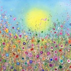 Your sweet kisses are full of magic 100cmx140cm 0il on canvas UK Flower Artist Yvonne Coomber original oil paintings #buyfineart