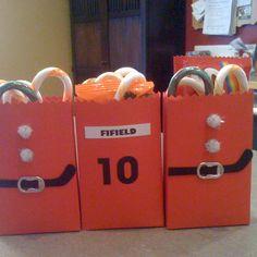 Hockey player Christmas gifts