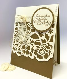 Flower Sparkle: July 2016 Card Group Projects