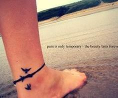 1000 images about ankle tattoos female on pinterest ankle tattoos female tattoos and. Black Bedroom Furniture Sets. Home Design Ideas