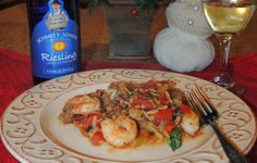 Kathiey's World: Recipe Review One Pot Shrimp and Grits(Orzo:-) from Southern Living Magazine Dec 2013