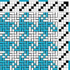 pinwheel 4 shaft loom weaving patterns - Google Search
