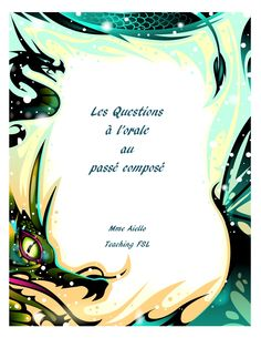 $ verbal activity for the French past tense. Three sets of ?s included: past tense with avoir, irregular past participles that use avoir, past tense with etre. Word document so you can edit as desired or mix the questions into one more challenging version.    It includes 12 questions related to the life of middle school students. May need to preteach some vocabulary.  Effective, low-risk way to get even my reluctant students speaking in the past