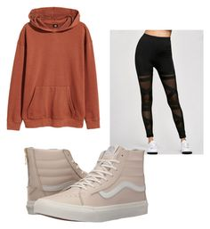 """""""Untitled #48"""" by jolee-micah ❤ liked on Polyvore featuring H&M and Vans"""