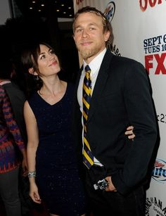 Maggie Siff & Charlie Hunnam