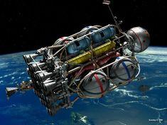 Von Braun Moonship