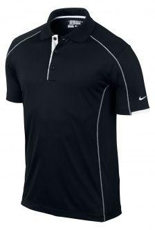 Nike Golf Tech Core Color Block Polo Black