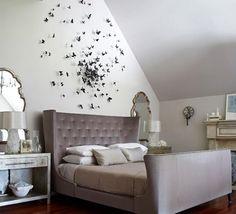 Beautiful elegantly modern bedroom: design by Kara Mann via desire to inspire