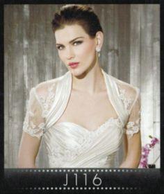 Cosmobella Jacket Style J116 #wedding #jacket #bride #IfoundMyDressAtMacys #MacysBridalSalon #sale #sample #cosmobella