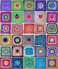 A Square a Day in May CAL, via Flickr.#crochetattic