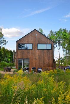 Maas architecten woonhuis winterswijk zink modern villa landelijk stucwerk schuur maas - Veranda ou uitbreiding ...