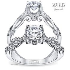 from the Insignia Collection, by #Verragio #Engagement #Rings  #SkatellsGreenville