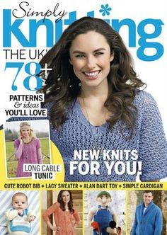 Simply Knitting Issue 134 2015 - 轻描淡写 - 轻描淡写