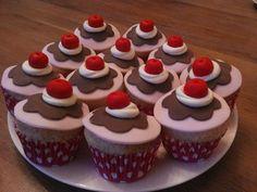 Sorbet cupcakes