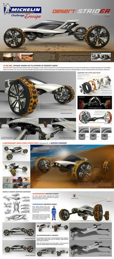 Stretch Concept by Dongsung Choi Transportation Design, Car Wheels, Motor Car, Futuristic Motorcycle, Futuristic Cars, Automobile, Bike Design, Automotive Design, Kit Cars