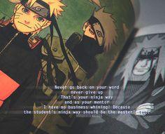 Naruto got his ninja way from Jiriaya Kakashi Hatake, Naruto Uzumaki, Anime Naruto, Shikamaru, Gaara, Itachi, Boruto, Naruhina, Fairy Tail