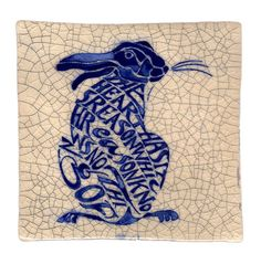Hare from Poetry Tiles