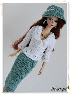 bena-pl Clothes for Vintage Barbie & Silkstone OOAK outfit