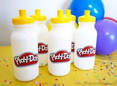 Play-Doh Birthday Party Ideas at artsyfartsymama.com #WorldPlayDohDay