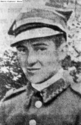 Eliyahu Boraks, member of the Jewish underground in the Vilnius (Vilna) and Bialystok ghettos.