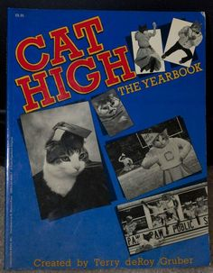 So This Exists: Cat High - A Yearbook for Cats (23 Pics) | Daily Dawdle (I Want This!!)