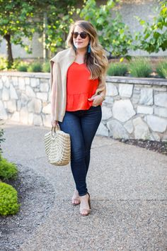 Cute summer outfit plus what to do in Asheville - click through for more on Antler Village and all the activities there! | Asheville vacation ideas | summer vacation post | summer vacay ideas | what to do at the Biltmore Estate | Biltmore Village | summer outfit inspiration | summer outfit idea