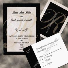 Wedding InvitationsRhinestone Embellished by YourPictureFixer, $1.75