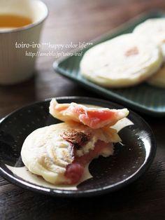 フライパンで簡単!桜の焼き餅 | トイロ オフィシャルブログ「トイロイロ ***happy color life***」Powered by Ameba