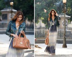 Street Style: longo e jaqueta perfecto