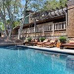 pools - Daybed Chaise Ceramic Garden Stool Heath Ceramic Tile Cedar Shingle Shake Cedar Shake Shake Siding Red Cedar Western Red Cedar Redwood Board and Batten Ranch House Ranch-Style House Redwood Siding Redwood Trellis Arbor Oak Tree French Window Rock Wall Planter French Window Ipe Stair Ipe Stairs Ipe Staircase Ipe Wood Ipe Decking Ipe Deck Redwood Baluster Japanese Siding Ipe Pool Ranch House Ranch Home California Ranch