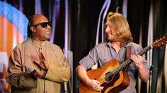 The young musician was performing in the lobby of a Los Angeles hotel as part of a music festival when the legendary Stevie Wonder heard him. Namm Show, Stevie Wonder, Music Industry, Motown, Record Producer, American Singers, Halle, Stevia, Singing
