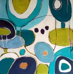 """Saatchi Art Artist Anne Dillon; Painting, """"Rolling in The Deep"""" #art"""