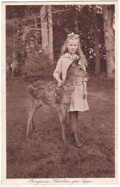 Princess Karoline of Lippe.