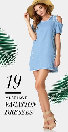 19 MUST-HAVE Vacation Dresses