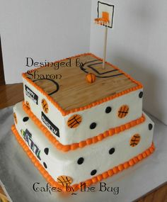 Basketball Themed Cakes | Cakes by the Bug: Jazz themed cake