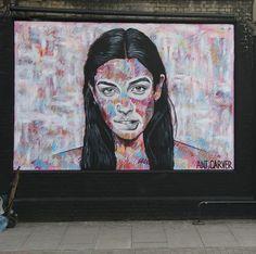 By @antcarver in London - http://ift.tt/1H9PDiq #globalstreetart by globalstreetart