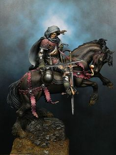 KNIGHTS: Roaming Knight, XV century (artist unknown) Help eliminate poor pinning! If you know the artist and can supply a link, please update this pin. Thank you!