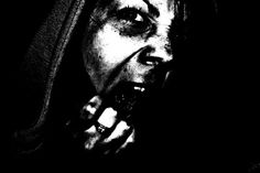 #scary #anger #blackwhite #photobymarty #scream