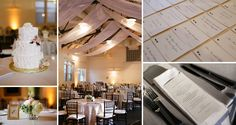 Some detail shots of a reception in the Hunnewell Carriage House. Images from Melissa DeSchamp