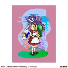 Alice and Friends Postcards