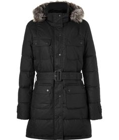 Barbour puffer coat (probably a zillion dollars)