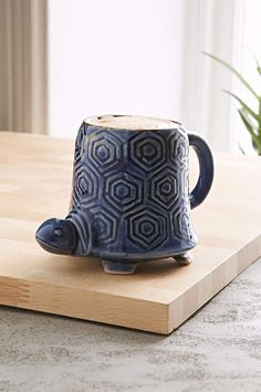 Plum & Bow Reactive Turtle Mug - Urban Outfitters $16