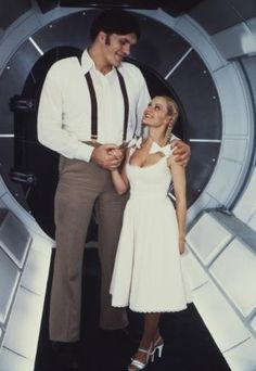 James Bond villain Jaws and his love Dolly from Moonraker