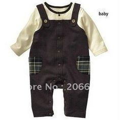 free shipping 2012 new autumn baby boy clothes high quality 100% cotton baby romper (tqbb016) on AliExpress.com. $15.70