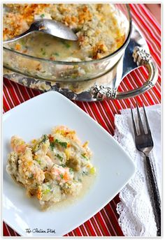 The Italian Dish - Posts - Holiday Seafood Casserole