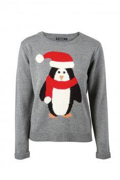 PRshots.com :: Christmas Jumpers Penguin Christmas Jumper   Dunnes Stores