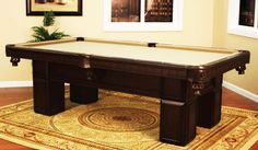 Macedonia Billiard Table | Allied Pools