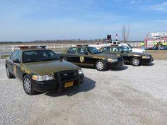 Maryland State Police - Ford Crown Vic Police Interceptors