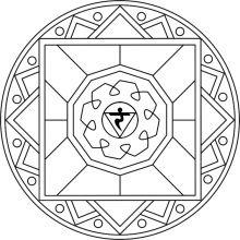 Mandala Manipura: 3º chakra